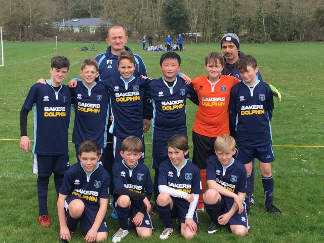 New kit for Weston Crusaders Under 12s