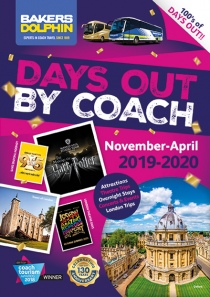 Days Out by Coach Nov 2019 to April 2020