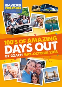 Days Out by Coach May to October 2018