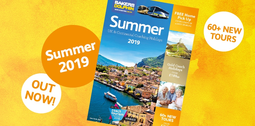 Summer 2019 brochure out now