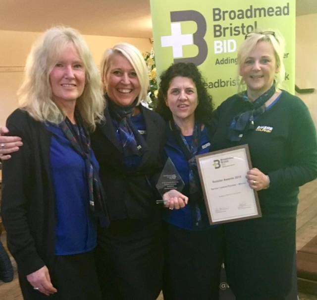 Broadmead travel shop awarded