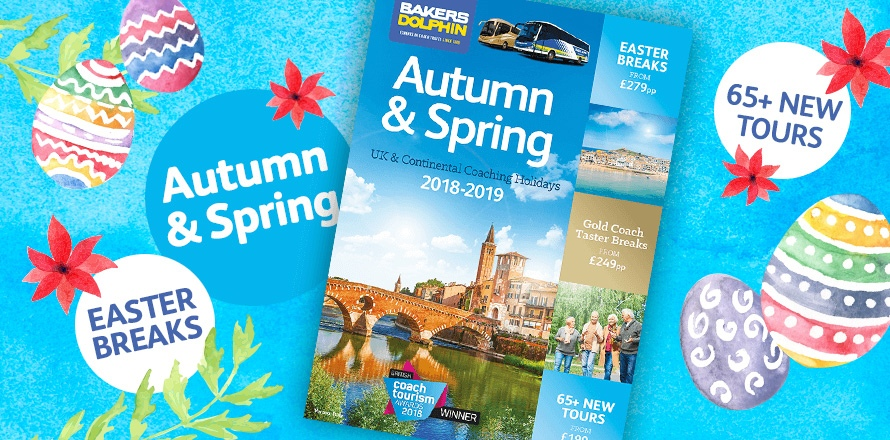Autumn & Spring 2018/19 brochure book now for Easter