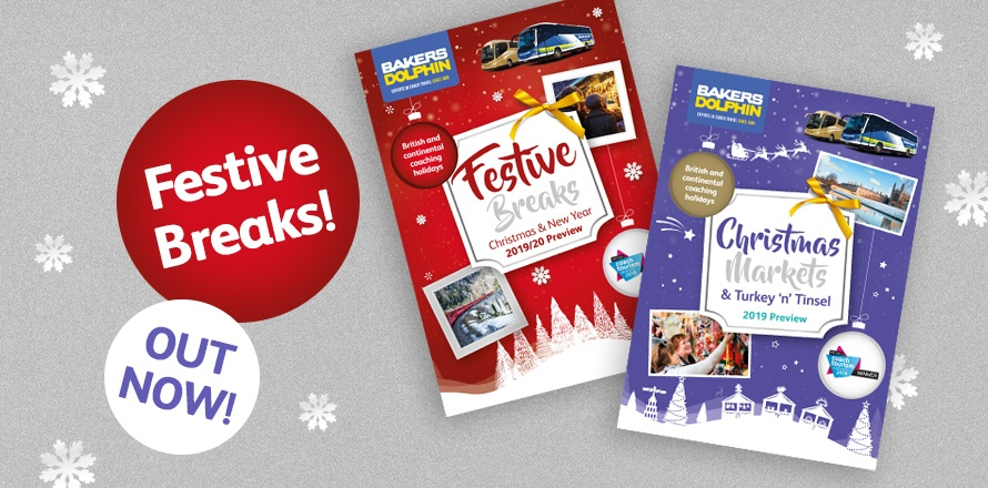 Festive Breaks preview brochures out now!