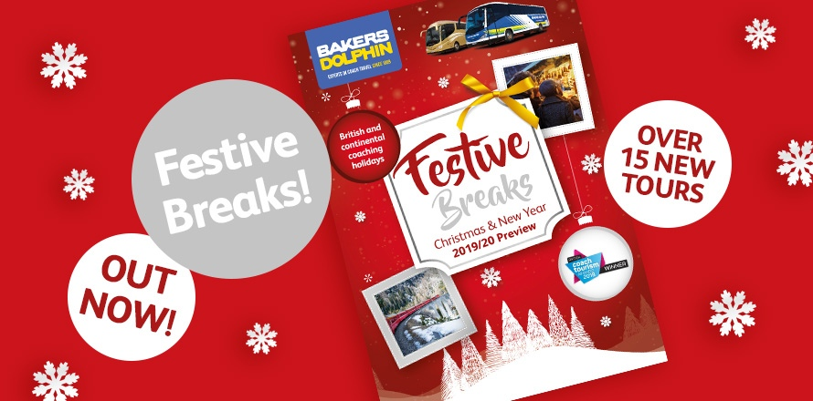 Festive Breaks brochure out now!