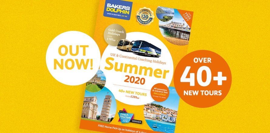 Summer 2020 brochure out now!